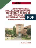 CATÁLOGO PROVINCIAL DIVERSIDAD FUNCIONAL