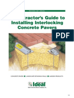Cont Installing Pavers