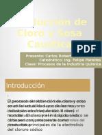 Producción de Cloro y Sosa Caustica