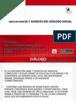 Importancia y Avances Del Dialogo Social