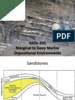 Marginal to Deep Marine Environments