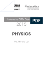 intensive class Notes Physics 2015