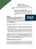 Exp. 431-2012 - Recurso de Apelación de Sentencia - Caso SR AUGUSTO MARCHENA MEJIA