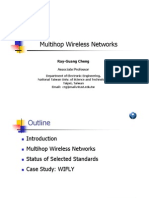 Multihop Wireless Networks