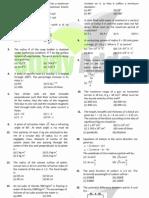 UPMT Sample Papers 3 Uttarakhand Pmt Physics Solved Paper 2006