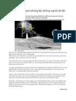 Nhật Lập Kế Hoạch Phóng Tàu Không Người Lái Lên Mặt Trăng