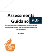 Assessment Guidance