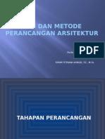 2. Tahapan Dan Metode Perancangan Arsitektur