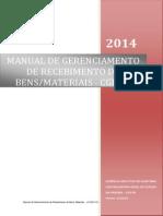 Manual Gerenciamento de Recebimento v.01.2014 25.04.2014