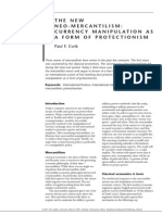 Currency - The New Neo-Mercantilism