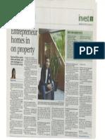Entrepreneur Homes in Property