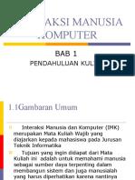 Interaksi Manusia Dan Komputer1