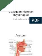 Gangguan Menelan (Dysphagia)