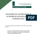 Solución a La PAC 2014-15