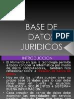 BASE DE DATOS JURIDICOS.ppt