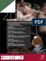 JORNADAS POLIFÓNICAS 2015