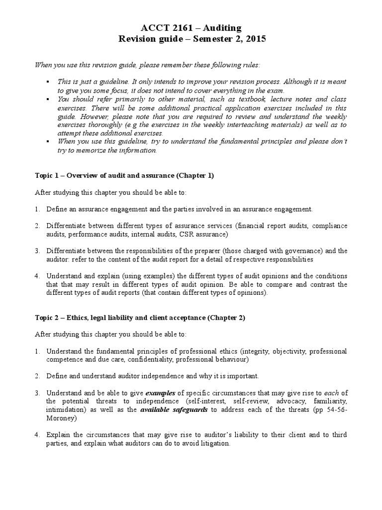 understanding the auditor s report