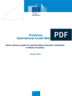 Erasmus+ ICM Quick Reference Guide for Partner Country HEIs_Oct2015