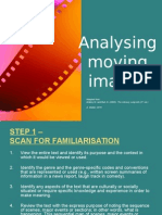 analysing moving imgages