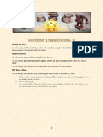 solo enemy template for dnd 5e