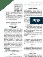 Lacticínios - Legislacao Portuguesa - 1986/09 - DL nº 261 - QUALI.PT