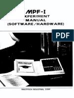 Micro Professor MPF 1 Experiment Manual