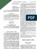 Lacticínios - Legislacao Portuguesa - 1992/03 - Port nº 160 - QUALI.PT