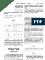 Lacticínios - Legislacao Portuguesa - 1992/07 - Port nº 742 - QUALI.PT