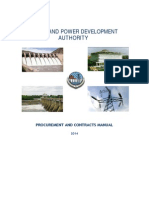 Procurement Manual of Wapda