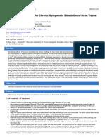 Surgery-Fiber-optic Implantation for Chronic Optogenetic Stimulation of Brain Tissue