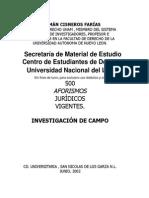 Cisneros - Aforismos Jurídicos