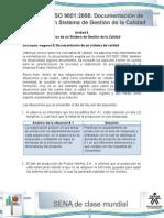 Actividad de Aprendizaje Unidad 4 Registro y Documentacion de Un Sistema de Calidad
