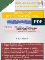 Seminario Grupo B - Rehidratación Oral