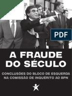 A Fraude BPN Livro Bloco de Esquerda
