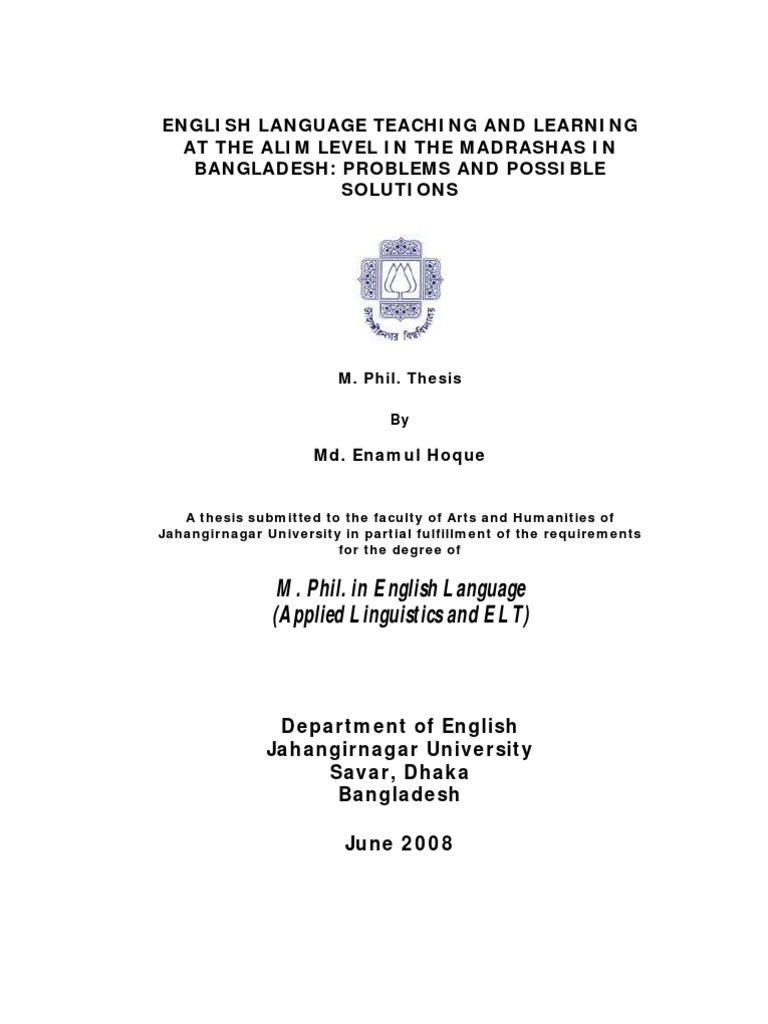 Communicative language teaching dissertation
