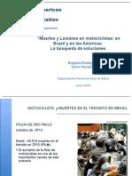 Muertes y lesiones en motociclistas
