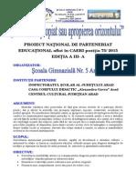0 Concurs Proiect Orizontul Apropiat 2015