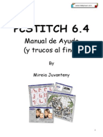Manual Y Trucos Pcstitch 6.4 Punto de Cruz
