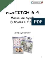Manual Y Trucos Pcstitch 6.4 Punto de Cruz