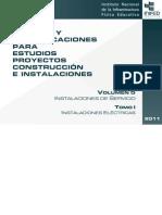 Normas y Especificaciones para estudios proyectos construcción e instalación