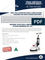 Floor Sander for Sale