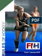 fih - hockey rules book 2015