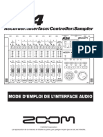 Zoom R24 Mode d'emploi de l'interface audio (French)