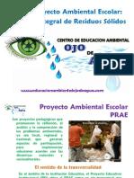 PRAE Manejo Integral de Residuos Solidos Escolar