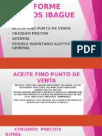 Informe Metros Ibague