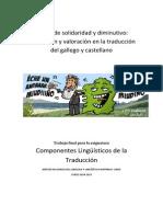 Traducción de gallego a castellano