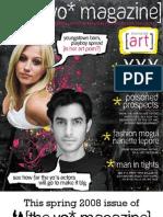 The Yo' Magazine Spring 2008 Arts Issue