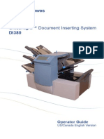 Pitney Bowes DI380 Manual