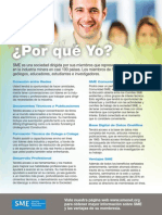Spanish Membership Flyer