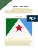 Símbolos Patrios Del Estado Mérida